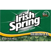 Irish Spring Original Deodorant Soap Bar, 3.75 oz.