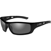 Wiley X Slay Triloid Nylon Rectangle Sunglasses ACSLA