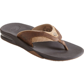 Reef Men's Leather Fanning Sandals