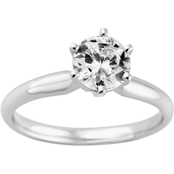 14K Gold 1/4 Ct. Diamond Solitaire Engagement Ring