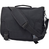 Flying Circle 17 in. Laptop Messenger Bag