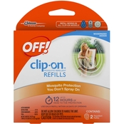 OFF! Clip-On Mosquito Repellent Starter Refill 2 Ct.
