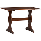 Linon Chelsea Corner Breakfast Nook Table