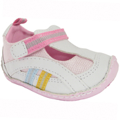 Wee Kids Infant Girls T Strap Trainers