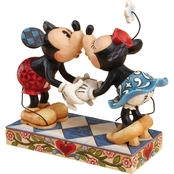 Disney Traditions Mickey and Minnie Kissing