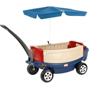 Little Tikes Deluxe Ride 'N Relax Wagon with Umbrella and Cooler