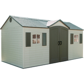 Lifetime 15 ft. x 8 ft. Side Entry Outdoor Garden Storage Shed