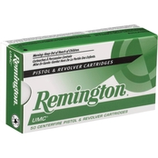 Remington UMC 9mm 124 Gr. FMJ, 50 Rounds