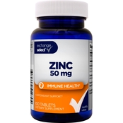 Exchange Select Natural Zinc Tablet 50 mg, 100 Ct.