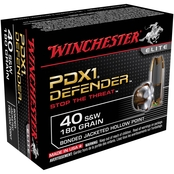 Winchester Supreme Elite .40 S&W 180 Gr. PDX1, 20 Rounds