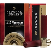 Federal Personal Defense .410 Gauge 2.5 in. #4 Buckshot, 20 Rounds
