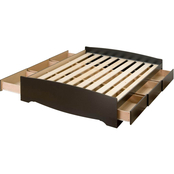 Prepac Queen Mate's Platform Storage Bed