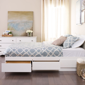 Prepac Full Mate's Platform Storage Bed