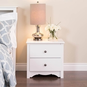 Prepac 2 Drawer Nightstand