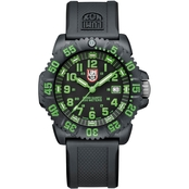 Luminox Men's EVO Navy SEAL Colormark Series Dive Watch Green Numerals 44mm 3067LUM