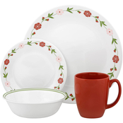 Corelle Spring Pink 16 pc. Dinnerware Set