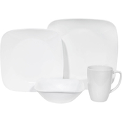 Corelle Pure White 16 pc. Dinnerware Set
