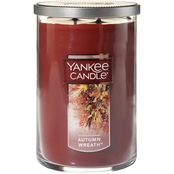 Yankee Candle Autumn Wreath Large 2-Wick Tumbler Candle