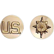 Army Enlisted Military Intelligence Branch Collar Device Set