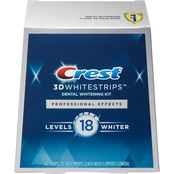 Crest 3D White Professional Effects Whitestrips, 20 Count
