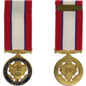 Miniature Medals, Army Distinguished Service