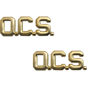 Army Officer OCS Collar Device Set