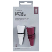 Rabbit Colored Wine Stoppers 2 pk.