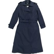 DLATS Women's Blue All Weather Coat