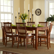 Home Styles Arts and Crafts 7 pc. Dining Set