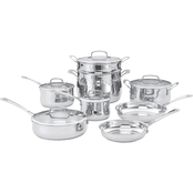 Cuisinart Contour Stainless 13 pc. Cookware Set
