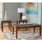 Ashley Theo 3 pc. Occasional Table Set