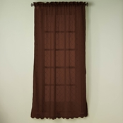 Simply Perfect Wavy Diamonds Window Curtain Panel 52 x 84