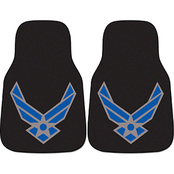 Fan Mats Air Force 2 Pc. Printed Car Mats