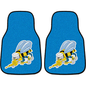 Fan Mats Navy Seabees 2 Pc. Printed Car Mats