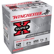 Winchester Super-X 12 Ga. 2.75 in. #6 3.25 Dram 1.125 oz. Shotshell, 25 Rounds