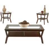 Klaussner Clifton 3 pc. Occasional Table Set