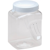 Snapware Airtight Food Storage Square Plastic Canister with Translucent Lid