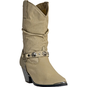 Dan Post Women's Dingo 10 in. Soft Pigskin Slouch Boots