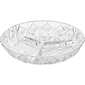 Gibson Home Jewelite 3-Section Relish Dish