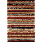 Surya Striped Shag Rug