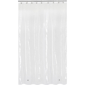 Maytex Softy Stall PEVA Shower Curtain Liner, Clear