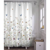 Maytex Garden Flight PEVA Shower Curtain