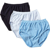 Jockey Comfies Cotton Microfiber Briefs 3 Pk.