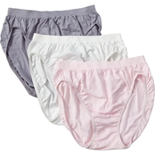 Jockey Comfies Cotton Microfiber French Cut Panties 3 Pk.