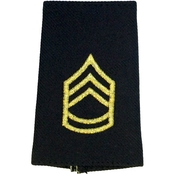Army Shoulder Mark Enlisted Sergeant First Class SFC Small Female Slide-On