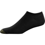 Gold Toe Men's Ultratec No Show Socks 3 Pk.