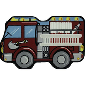 Fun Rugs 2 ft. 6 in. x 5 ft. 9 in. Fire Engine Rug