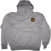 Coast Guard Military Logo Pullover Sweatshirt with Hood