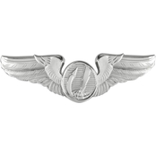 Air Force Basic Remotely Piloted Aircraft (RPA) Badge, Mirror Finish, Midsize