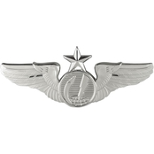 Air Force Senior Remotely Piloted Aircraft (RPA) Badge, Mirror Finish, Midsize